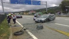 Trabzonda trafik kazası: 4 yaralı