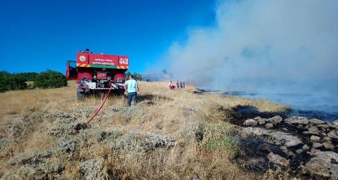 Hasan Dağında orman yangını sürüyor
