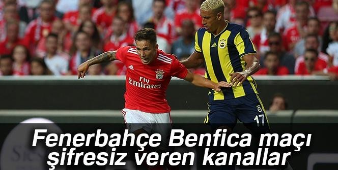 Fenerbahçe Benfica maçı şifresiz veren kanallar İZLE |FB, Benfica şifresiz -CANLI İZLE-