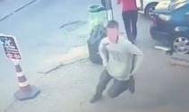 Başkentte pompalı tüfekle dehşet saçan çocuğun kaçış anı kamerada