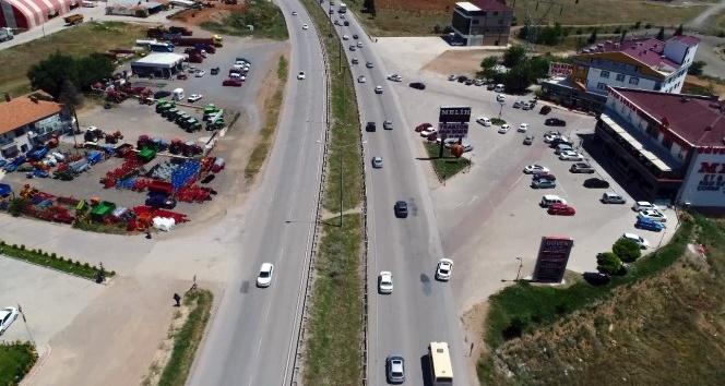 """Bayramda trafik denetimi """"drone"""" ile yapılacak"""