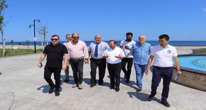 """Milletvekili Öztürkten """"Botanik Bahçeye, Fındık Durağı"""" önerisi"""
