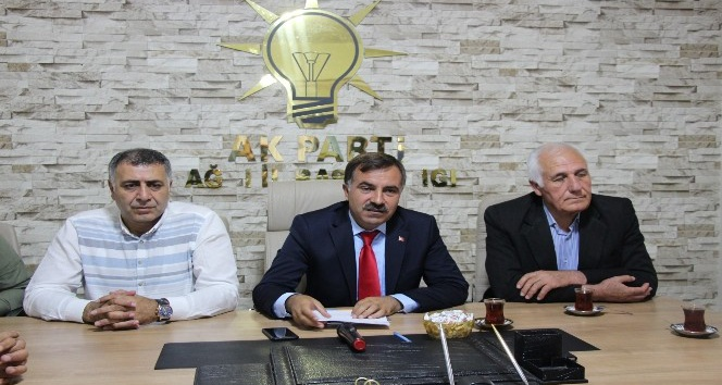 AK Parti İl Başkanı Aydından kongre öncesi açıklama