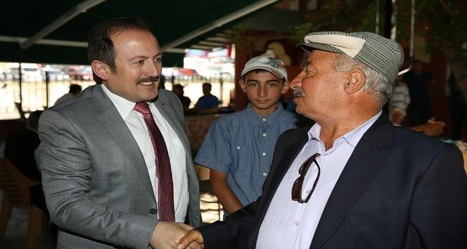 Vali Ali Hamza Pehlivan, gurbetçi vatandaşlarla bir araya geldi