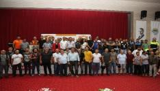 TMFden Başkan Tunaya spora katkı plaketi