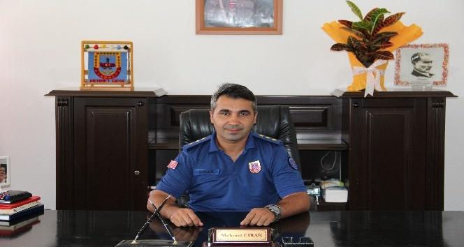 Dinar İlçe Jandarma Komutanı görevine başladı