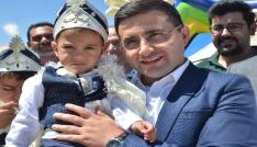 Nurhakta 110 çocuk için toplu sünnet şöleni düzenlendi