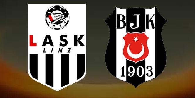 LASK Linz Beşiktaş maçı Özeti Golleri İzle