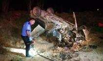 Bursa'nın ölüm yolu... Aynı yolda 3 saat ara ile 2 kaza, 2 ölü 5 yaralı