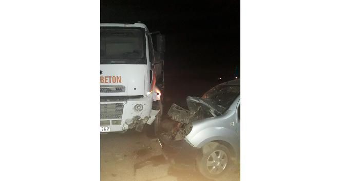 Midyatta trafik kazası: 2 yaralı