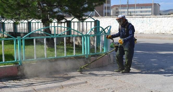 Şuhut Belediyesi bayram hazırlıklarına devam ediyor
