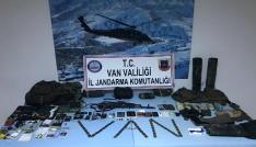 Vanda etkisiz hale getirilen teröristlerin sığınağı bulundu