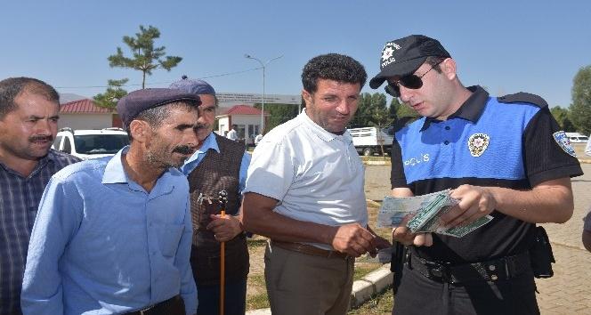 Muş polisi sahte para konusunda uyardı