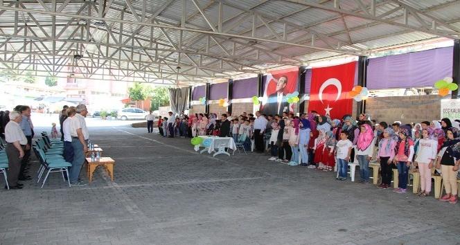 Şaphanede Yaz Kuran Kursları düzenlenen törenle sona erdi