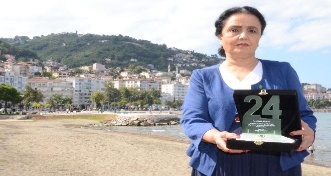 TEMAdan Nilgün Gözükana 24. Yıl ödülü