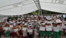 Ergenede yaz okulu öğrencileri sertifikalarını aldı
