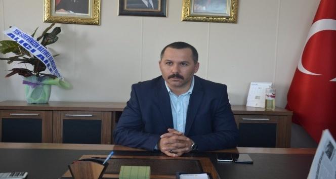 Ardahan AK parti İl Başkanı Hakan Aydından taziye mesajı