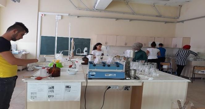 Tarım Lisesinden İç Anadoluya toprak analizi hizmeti