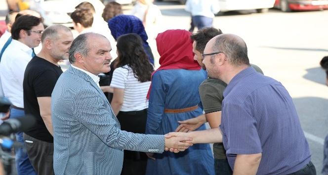 Pamukkalede belediyesi bayramlaştı