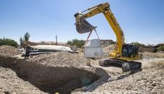 Ambarcık Mahallesine 3 kilometrelik kanalizasyon altyapısı