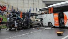 Kocaelide 134 kişi trafik kazalarında hayatını kaybetti