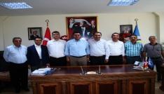 Vali yardımcıları ve kaymakamlardan Başkan Bergeye ziyaret