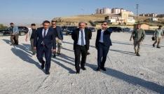 Vali Zorluoğlu, Edremitteki çalışmaları inceledi