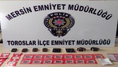 Mersinde çeşitli suçlardan aranan 38 kişi yakalandı