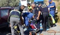 Aydın'daki trafik kazasında 2 kişi hayatını kaybetti