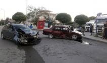 Başkentte trafik kazası: 4 yaralı!