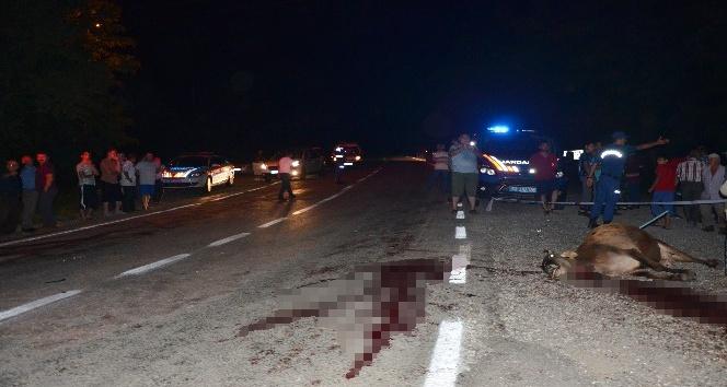Orduda kaza: 3 yaralı