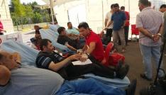 Cami İmamından kan bağışı kampanyası