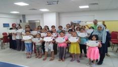 Yaz Kurslarını tamamlayan öğrencilere belgeleri verildi