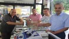 Esnaf temsilcileri devlete destek verdi