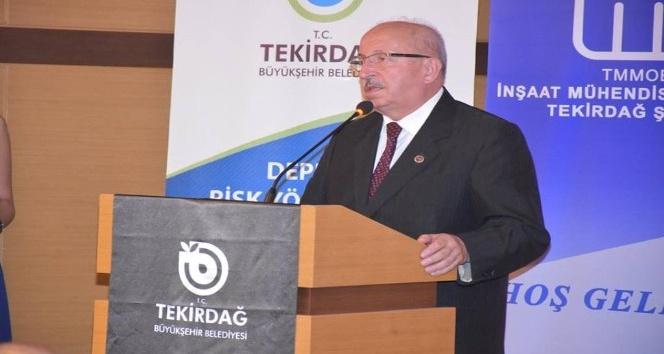 Tekirdağ Büyükşehir Belediye Başkanı Albayrak: Binalarımızın depreme dayanıklılık raporları gelince ben dehşete düştüm