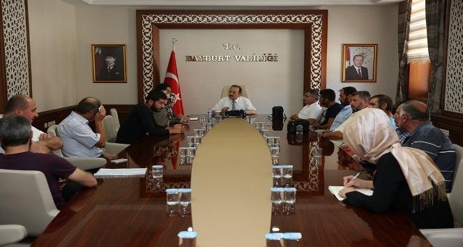 Vali Ali Hamza Pehlivan vatandaşların sorun ve talepleri dinledi