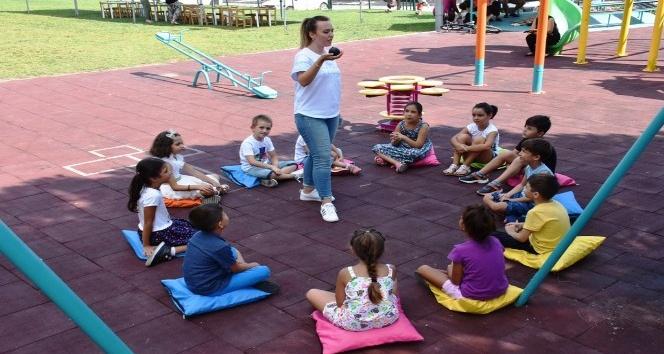 Çocuklar yaz tatillerini akıl ve zeka oyunlarıyla değerlendiriyor
