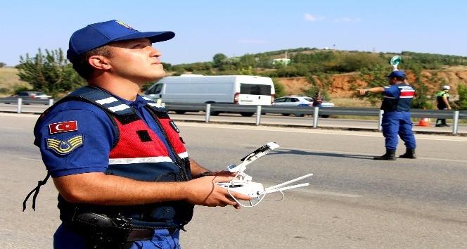 Orduda trafik drone ile denetlenecek