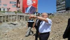 15 Temmuz Demokrasi ve Cumhuriyet Meydanı Projesinin çalışmalarını yerinde inceledi