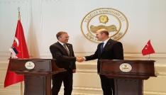 Bakan Soylu Sırbistanlı mevkidaşı Stefanovici kabul etti
