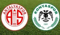 Antalyaspor Konyaspor Maç Ekranı