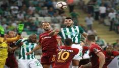 Spor Toto Süper Lig Bursaspor: 0 - Kayserispor: 0 (Maç sonucu)