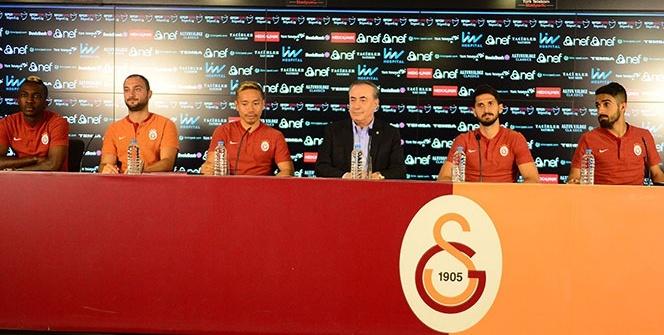Galatasaray'da imzalar atıldı!