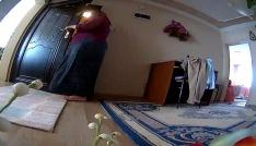 (Özel) Kiracısının evine hırsızlık için girdi