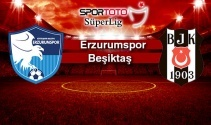 Erzurumspor Beşiktaş Maç Bilgileri Ekranı