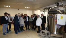 ATO Başkanı Baran, çikolata fabrikasını ziyaret etti