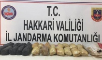 Hakkari'de 21 kilo TNT patlayıcı ele geçirildi