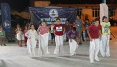 Pamukkalede çocuklara bayram şenliği