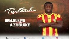 Evkur Yeni Malatyaspor Azubuikeye veda etti