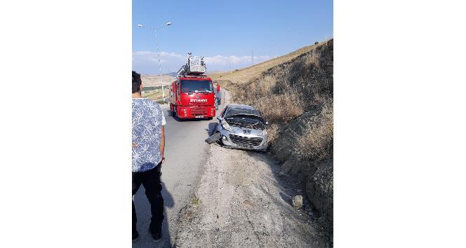 Vanda trafik kazası: 2 yaralı